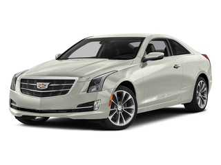 Crystal White Tricoat 2017 Cadillac ATS Coupe Pictures ATS Coupe 2D Premium Performance V6 photos front view