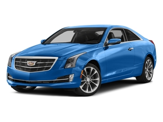 Silver Moonlight Metallic 2017 Cadillac ATS Coupe Pictures ATS Coupe 2D Premium Performance V6 photos front view