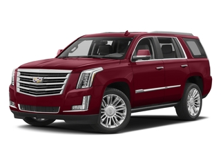 Red Passion Tintcoat 2017 Cadillac Escalade Pictures Escalade Utility 4D Platinum 2WD V8 photos front view