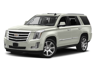 Crystal White Tricoat 2017 Cadillac Escalade Pictures Escalade Utility 4D Premium Luxury 2WD V8 photos front view