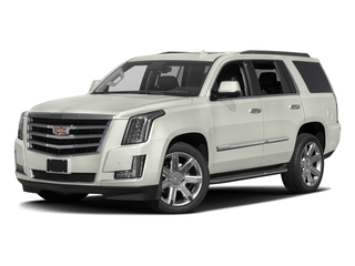 Crystal White Tricoat 2017 Cadillac Escalade Pictures Escalade Utility 4D Luxury 2WD V8 photos front view