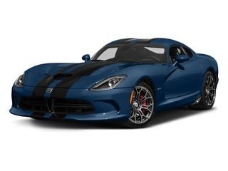 Competition Blue 2017 Dodge Viper Pictures Viper 2 Door Coupe photos front view