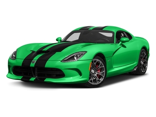 Stryker Green Tri-Coat Pearl 2017 Dodge Viper Pictures Viper GTC Coupe photos front view