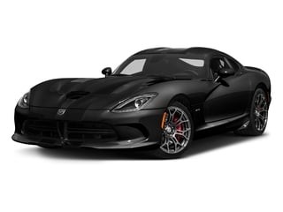 Venom Black Clearcoat 2017 Dodge Viper Pictures Viper 2 Door Coupe photos front view