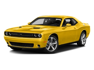 Yellow Jacket Clearcoat 2017 Dodge Challenger Pictures Challenger SXT Coupe photos front view