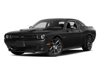 Pitch Black Clearcoat 2017 Dodge Challenger Pictures Challenger Coupe 2D R/T Plus V8 photos front view