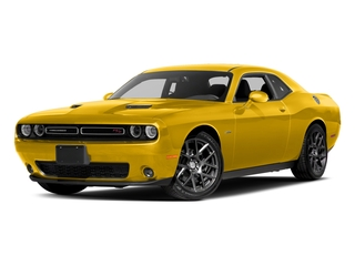 Yellow Jacket Clearcoat 2017 Dodge Challenger Pictures Challenger Coupe 2D R/T Plus V8 photos front view