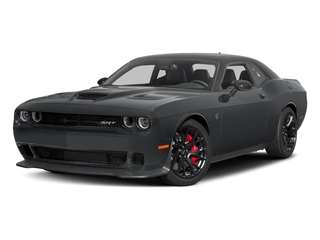 Granite Pearlcoat 2017 Dodge Challenger Pictures Challenger Coupe 2D SRT Hellcat V8 Supercharged photos front view