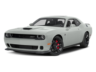 White Knuckle Clearcoat 2017 Dodge Challenger Pictures Challenger SRT Hellcat Coupe photos front view