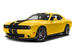 Yellow Jacket Clearcoat 2017 Dodge Challenger Pictures Challenger Coupe 2D SRT 392 V8 photos front view