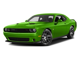 Green Go Clearcoat 2017 Dodge Challenger Pictures Challenger 392 Hemi Scat Pack Shaker Coupe photos front view