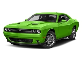 Green Go Clearcoat 2017 Dodge Challenger Pictures Challenger Coupe 2D GT AWD V6 photos front view