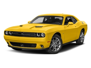 Yellow Jacket Clearcoat 2017 Dodge Challenger Pictures Challenger Coupe 2D GT AWD V6 photos front view