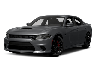 Granite Pearlcoat 2017 Dodge Charger Pictures Charger Sedan 4D SRT Hellcat V8 Supercharged photos front view