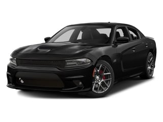Pitch Black Clearcoat 2017 Dodge Charger Pictures Charger Sedan 4D Daytona 392 V8 photos front view
