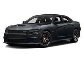 Maximum Steel Metallic Clearcoat 2017 Dodge Charger Pictures Charger Sedan 4D SRT 392 V8 photos front view