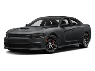 Granite Pearlcoat 2017 Dodge Charger Pictures Charger Sedan 4D SRT 392 V8 photos front view