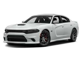 White Knuckle Clearcoat 2017 Dodge Charger Pictures Charger Sedan 4D SRT 392 V8 photos front view