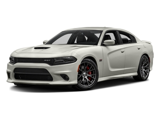 Pitch Black Clearcoat 2017 Dodge Charger Pictures Charger Sedan 4D SRT 392 V8 photos front view