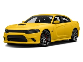 Yellow Jacket Clearcoat 2017 Dodge Charger Pictures Charger Sedan 4D SRT 392 V8 photos front view