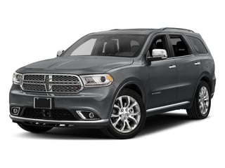 Granite Metallic Clearcoat 2017 Dodge Durango Pictures Durango Utility 4D Citadel AWD V6 photos front view