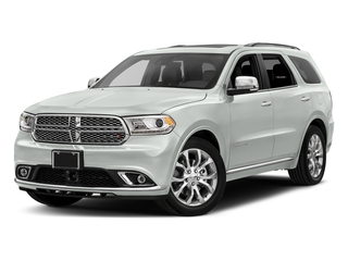 White Knuckle Clearcoat 2017 Dodge Durango Pictures Durango Utility 4D Citadel 2WD V6 photos front view