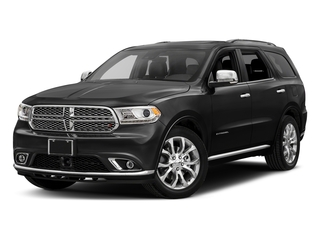 DB Black Crystal Clearcoat 2017 Dodge Durango Pictures Durango Utility 4D Citadel AWD V6 photos front view