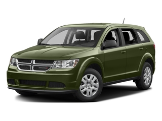 Verde Oliva (Olive Green) 2017 Dodge Journey Pictures Journey Utility 4D SE AWD V6 photos front view