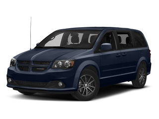 Contusion Blue Pearlcoat 2017 Dodge Grand Caravan Pictures Grand Caravan GT Wagon Fleet photos front view