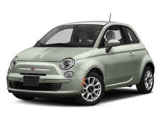 Verde Chiaro (Light Green) 2017 FIAT 500 Pictures 500 Lounge Hatch photos front view