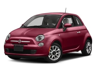 Rosso (Red) 2017 FIAT 500 Pictures 500 Lounge Hatch photos front view