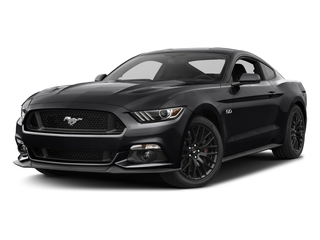 Shadow Black 2017 Ford Mustang Pictures Mustang Coupe 2D GT V8 photos front view