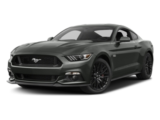 Magnetic Metallic 2017 Ford Mustang Pictures Mustang Coupe 2D GT V8 photos front view