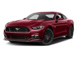 Ruby Red Metallic Tinted Clearcoat 2017 Ford Mustang Pictures Mustang Coupe 2D GT V8 photos front view