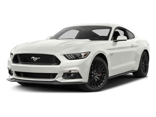 White Platinum Metallic Tri-Coat 2017 Ford Mustang Pictures Mustang Coupe 2D GT V8 photos front view