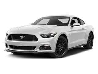 Oxford White 2017 Ford Mustang Pictures Mustang Coupe 2D GT V8 photos front view