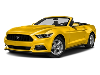 Triple Yellow Tri-Coat 2017 Ford Mustang Pictures Mustang Convertible 2D V6 photos front view