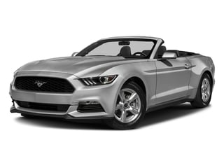 Ingot Silver Metallic 2017 Ford Mustang Pictures Mustang Convertible 2D V6 photos front view