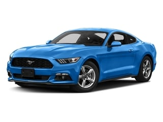 Grabber Blue 2017 Ford Mustang Pictures Mustang Coupe 2D EcoBoost I4 Turbo photos front view