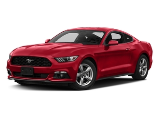 Race Red 2017 Ford Mustang Pictures Mustang Coupe 2D EcoBoost I4 Turbo photos front view
