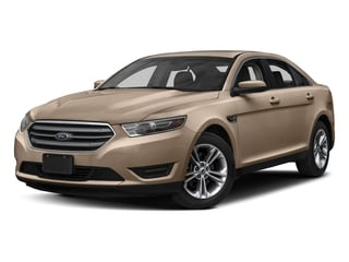 White Gold Metallic 2017 Ford Taurus Pictures Taurus Sedan 4D Limited AWD V6 photos front view