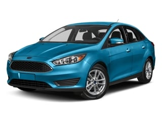 Blue Candy Metallic Tinted Clearcoat 2017 Ford Focus Pictures Focus Sedan 4D SE I4 photos front view