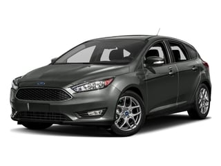 Magnetic Metallic 2017 Ford Focus Pictures Focus Hatchback 5D SE I4 photos front view