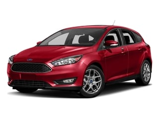 Race Red 2017 Ford Focus Pictures Focus Hatchback 5D SE I4 photos front view