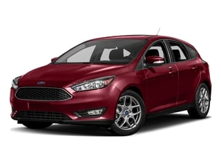 Ruby Red Metallic Tinted Clearcoat 2017 Ford Focus Pictures Focus Hatchback 5D SE I4 photos front view