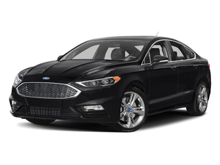 Shadow Black 2017 Ford Fusion Pictures Fusion Sedan 4D Sport EcoBoost V4 Turbo photos front view
