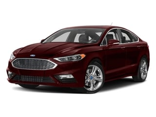 Burgundy Velvet Metallic Tinted Clearcoat 2017 Ford Fusion Pictures Fusion Sedan 4D Sport EcoBoost V4 Turbo photos front view