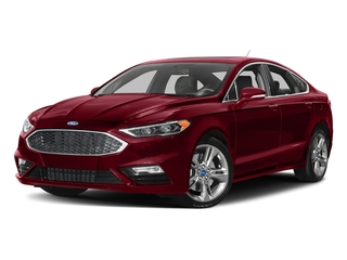Ruby Red Metallic Tinted Clearcoat 2017 Ford Fusion Pictures Fusion Sedan 4D Sport EcoBoost V4 Turbo photos front view