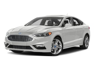 Oxford White 2017 Ford Fusion Pictures Fusion Sedan 4D Sport EcoBoost V4 Turbo photos front view