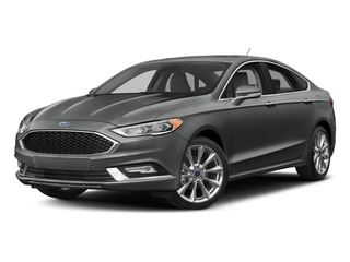 Magnetic 2017 Ford Fusion Pictures Fusion Sedan 4D Platinum AWD I4 Turbo photos front view